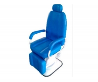 ENT examination chair / manual / 3-section