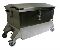 Veterinary trolley / concealment / storage / mortuary