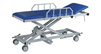 AGA Patient Transport and Recovery Tables with Hydraulic Height Adjustment