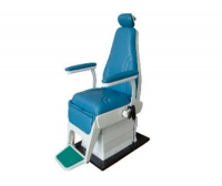 ENT examination chair / electric / height-adjustable / 3-section