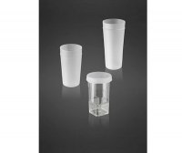 Specimen containers for corpuscle counter