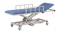 AGA MRI patient transport tables with hydraulic height adjustment