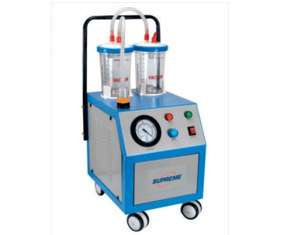 Electric surgical suction pump / on casters / for liposuction
