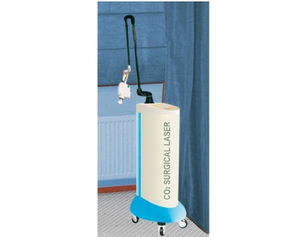 Dermatological laser / CO2 / trolley-mounted