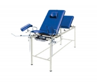 Gynecological examination table / fixed-height / 3-section