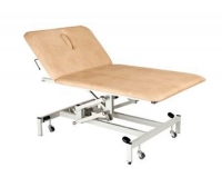 Physiotherapy examination table / electric / mobile / height-adjustable