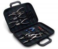 PL-16 PCS Tool Set Canvas Case 9 Pliers and 7 Screw