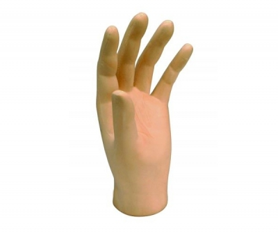 Hand external cosmetic prosthesis / adult