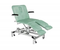 Podiatry examination chair / electric / with adjustable backrest / with legrest