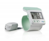 Wrist pulse oximeter / with separate sensor