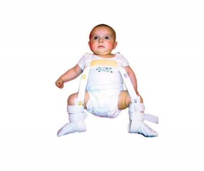 Hip dysplasia orthosis / leg abduction / pediatric