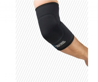 Elbow sleeve / with ulnar pad
