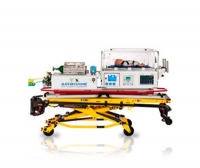 Neonatal transport incubator / on casters