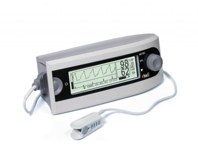 Pulse oximeter with separate sensor / tabletop
