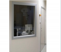 Fixed window / radiation shielding / lead glass / hospital