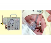 Pneumatic ventilator / transport / CPAP / non-magnetic