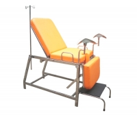Gynecological examination chair / manual / 3-section