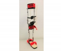 Knee, ankle and foot orthosis (KAFO) / articulated
